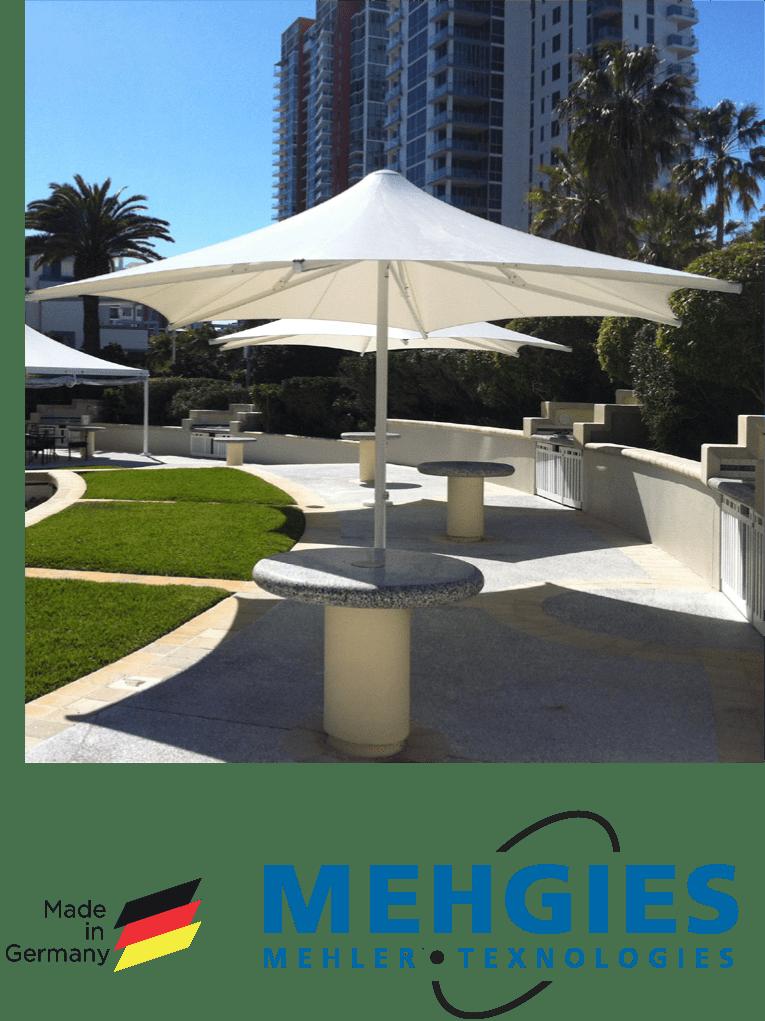 waterproof shade sails Gold Coast
