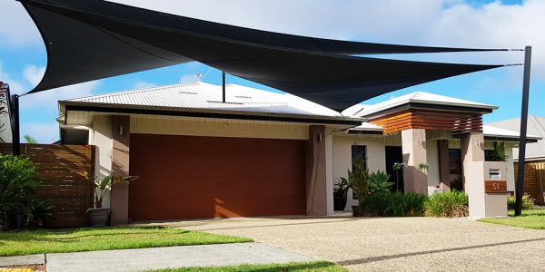 Residential Shade Sails Designed & Fitted